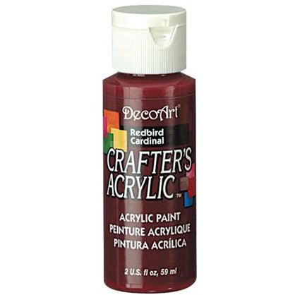 Crafter's Acrylic All-Purpose Paint - Redbird