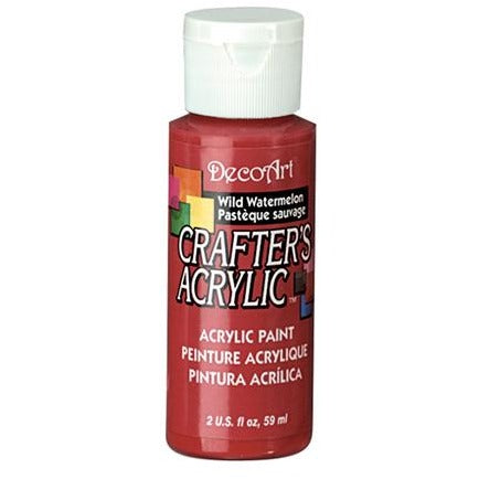 Crafter's Acrylic All-Purpose Paint - Wild Watermelon