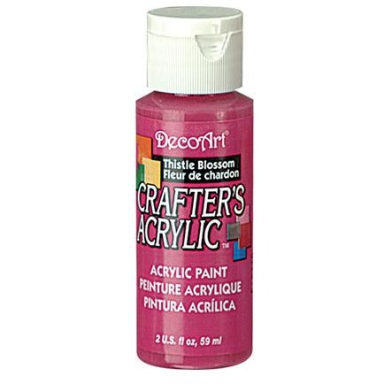 Crafter's Acrylic All-Purpose Paint - Thistle Blossom