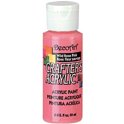 Crafter's Acrylic All-Purpose Paint - Wild Rose Pink