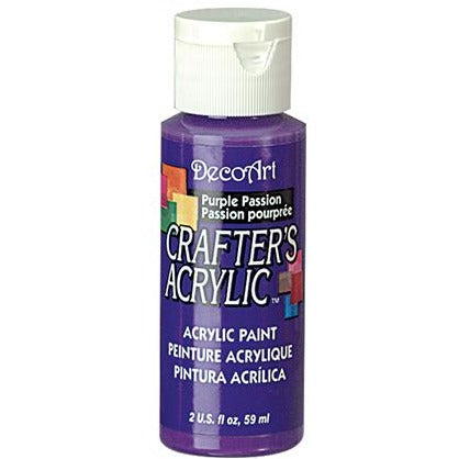 Crafter's Acrylic All-Purpose Paint - Purple Passion
