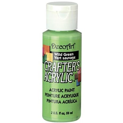 Crafter's Acrylic All-Purpose Paint - Wild Green