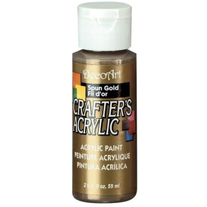 Crafter's Acrylic All-Purpose Paint - Spun Gold