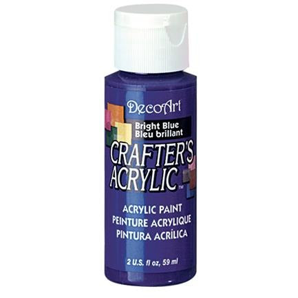 Crafter's Acrylic All-Purpose Paint - Bright Blue
