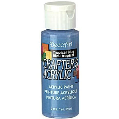 Crafter's Acrylic All-Purpose Paint - Tropical Blue
