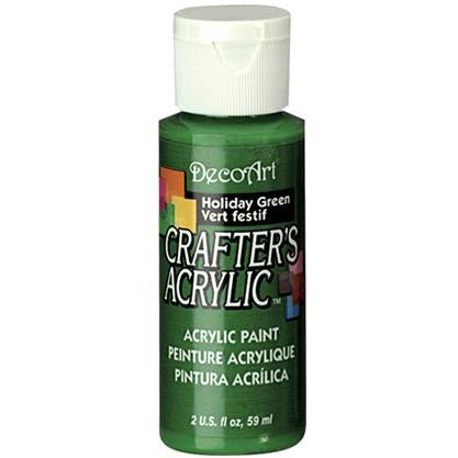 Crafter's Acrylic All-Purpose Paint - Holiday Green