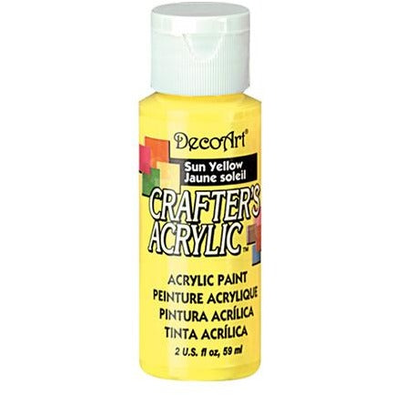 Crafter's Acrylic All-Purpose Paint - Sun Yellow