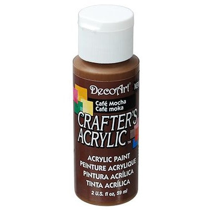 Crafter's Acrylic All-Purpose Paint - Cafe Mocha