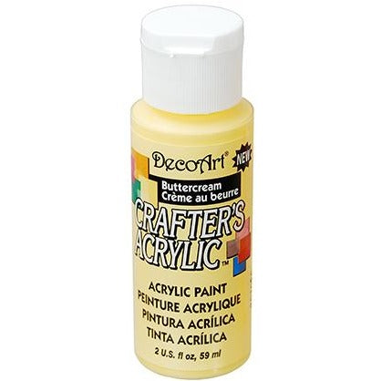 Crafter's Acrylic All-Purpose Paint - Buttercream