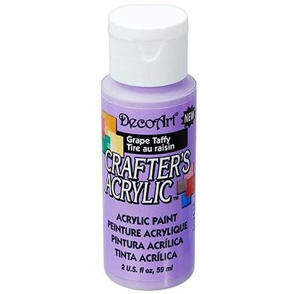 Crafter's Acrylic All-Purpose Paint - Grape Taffy