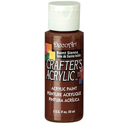 Crafter's Acrylic All-Purpose Paint - Burnt Sienna