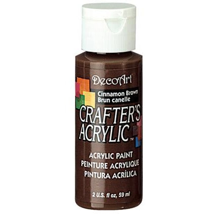 Crafter's Acrylic All-Purpose Paint - Cinnamon Brown