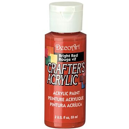 Crafter's Acrylic All-Purpose Paint - Bright Red