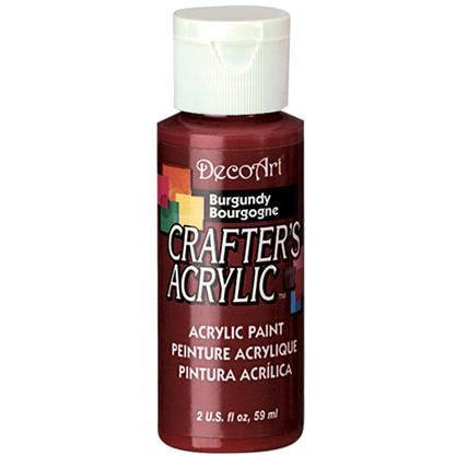 Crafter's Acrylic All-Purpose Paint - Burgundy