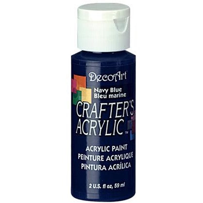 Crafter's Acrylic All-Purpose Paint - Navy Blue
