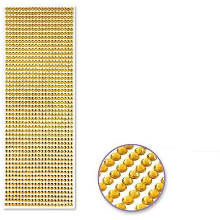Value Pack 4mm Gem Lines - Gold, 1029/pk