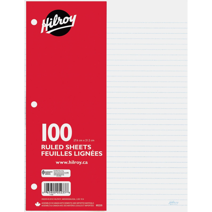 100-sheet Filler Ruled Paper