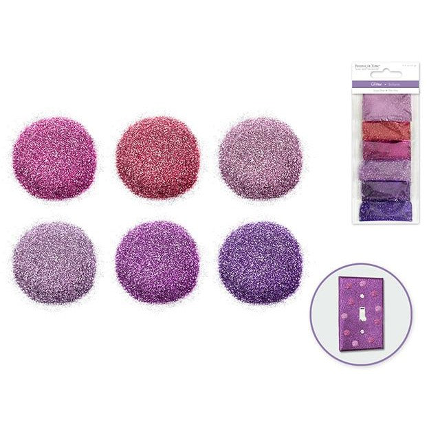 Superfine Glitters - Enchanted, 6/pk