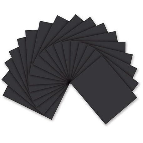 "Foam Sheet: 9""x12"" - Black"