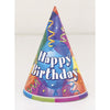 Party Hats - Brilliant Balloons, 8/pk