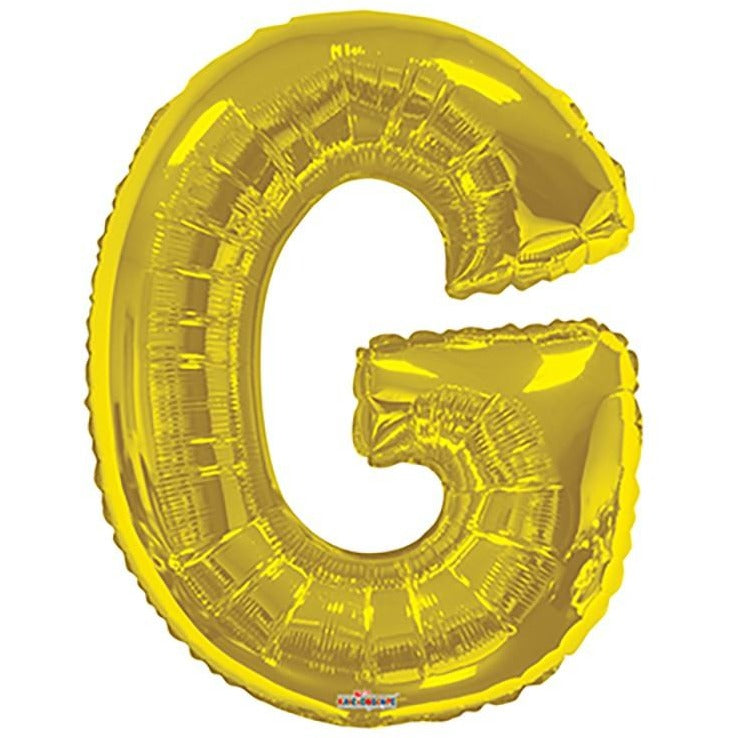 "34"" Gold Shape Letter G"