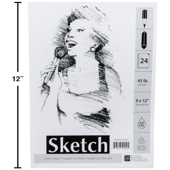 24-sheet Sketch Pad