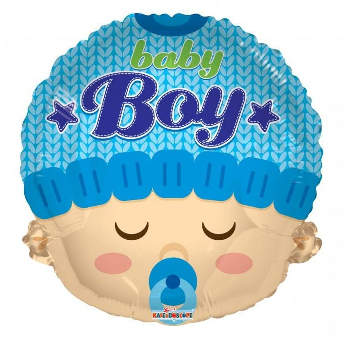 "18"" Baby Boy Head Shape"