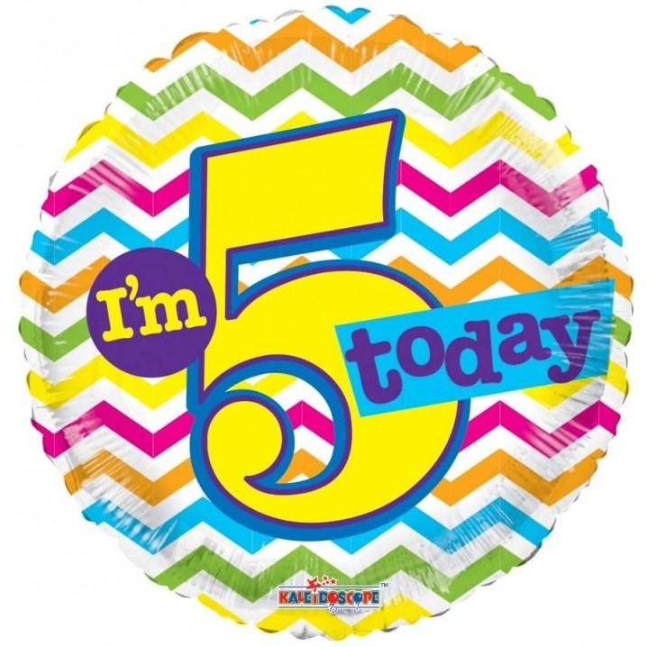 "18"" I am 5 Today"