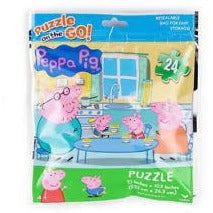 Jigsaw Puzzle 24 Pieces - Peppa Pig