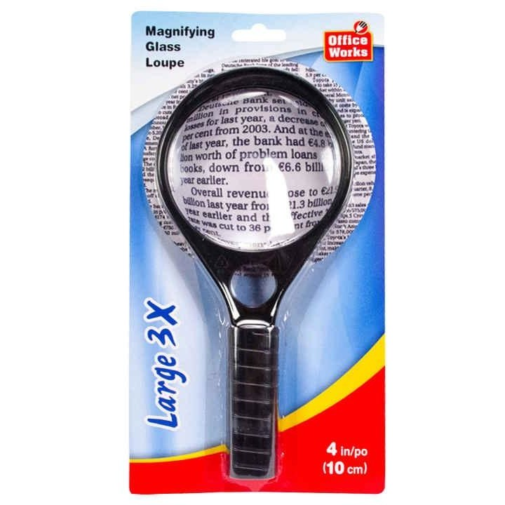 Large 3x Magnifying Glass