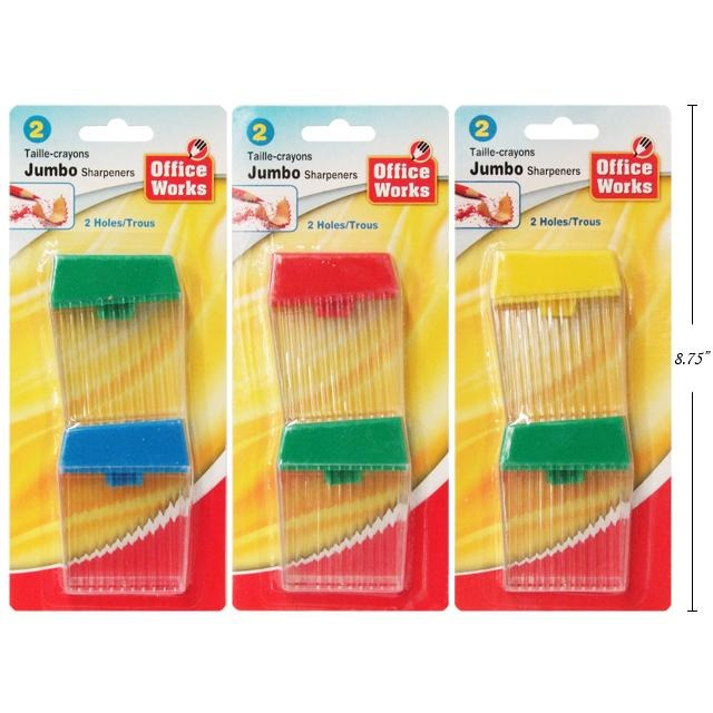 Twin-Hole Sharpeners, 2/pk