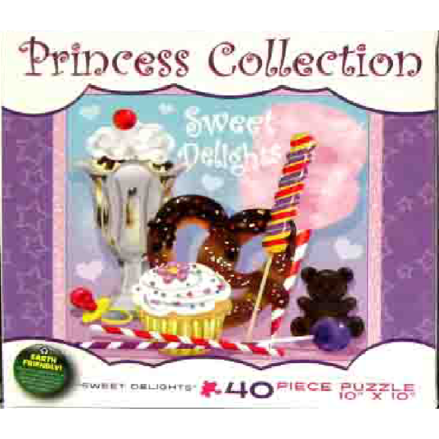 Jigsaw Puzzle 40 Pieces - Sweet Delights