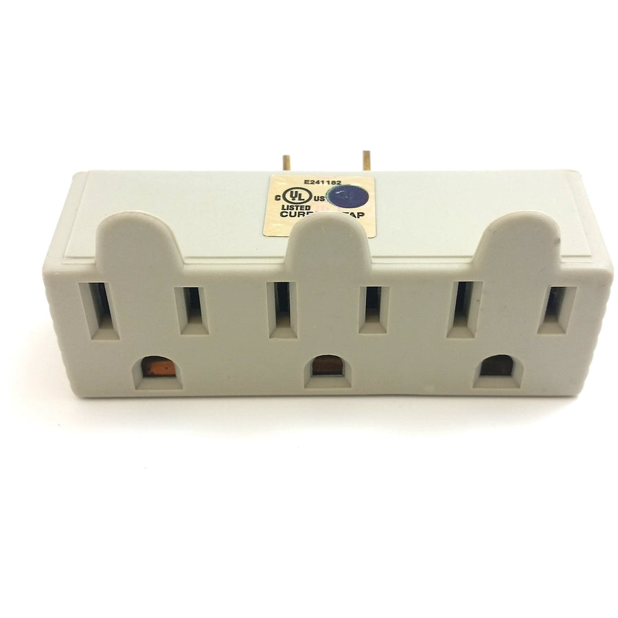 3-Outlet Power Wall Tap
