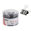 "3/4"" Binder Clips, Black 40/pk"