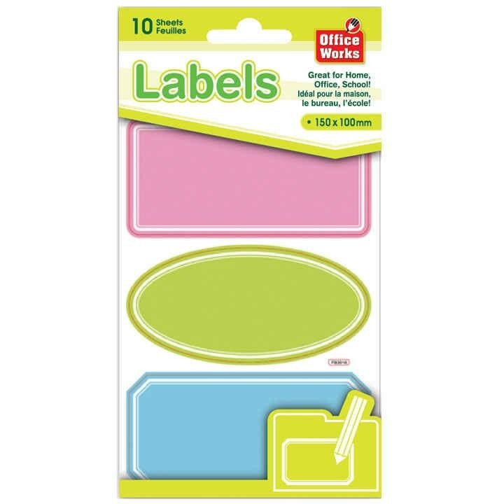 Self-Adhesive Message Labels