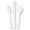White Assorted Plastic Cutlery 18/pk