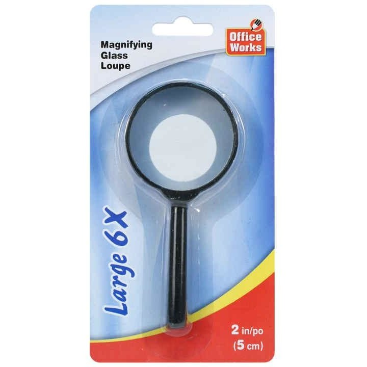 Samll 6x Magnifying Glass