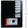 Plastic Document Folder with Tab