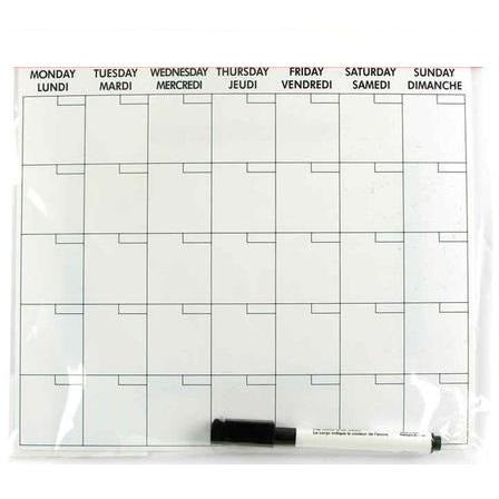 Magnetic Planner with Marker