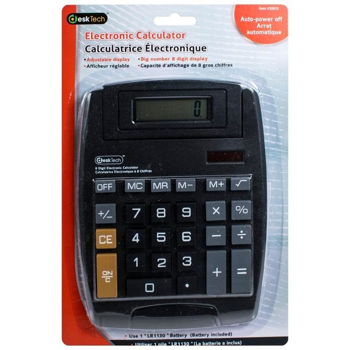Big Display Desk Calculator