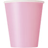 9oz Lovely Pink Paper Cups 8/pk