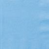 "13"" x 13"" Powder Blue Napkins 20/pk"