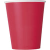 9oz Red Paper Cups 8/pk