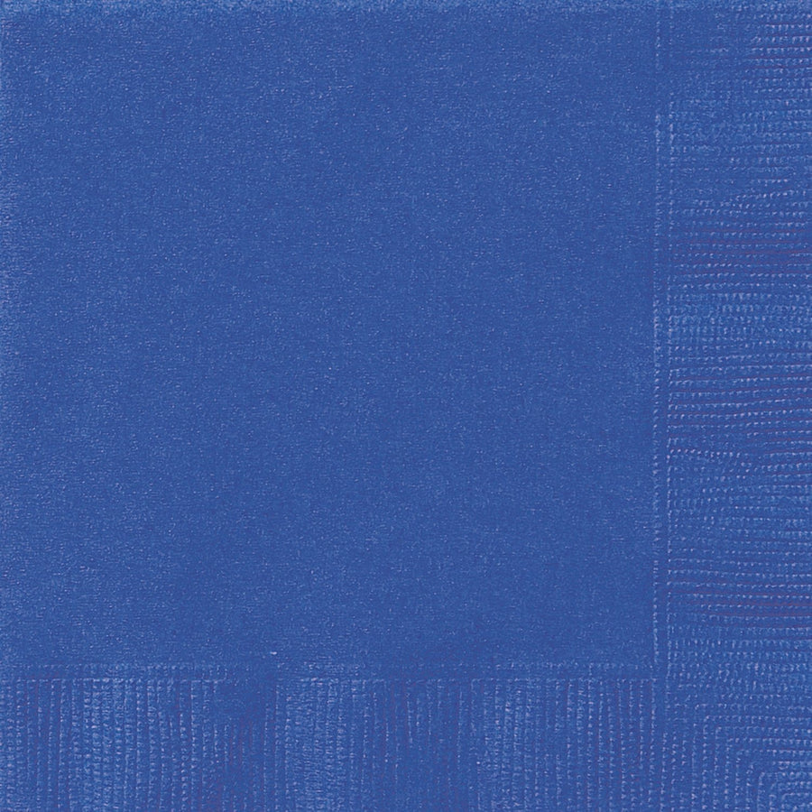 "10"" x 10"" Royal Blue Napkins 20/pk"