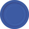 "7"" Royal Blue Paper Plates 8/pk"