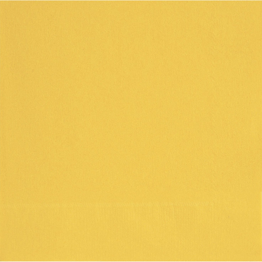 "10"" x 10"" Yellow Napkins 20/pk"