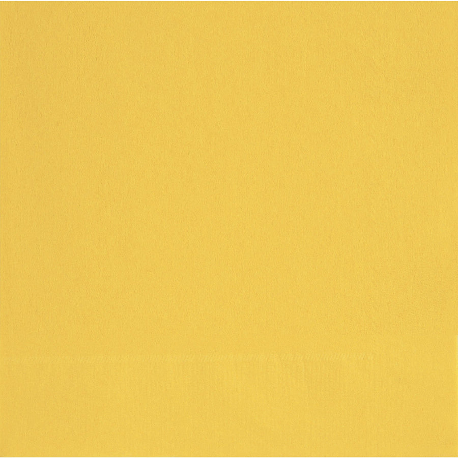 "13"" x 13"" Yellow Napkins 20/pk"