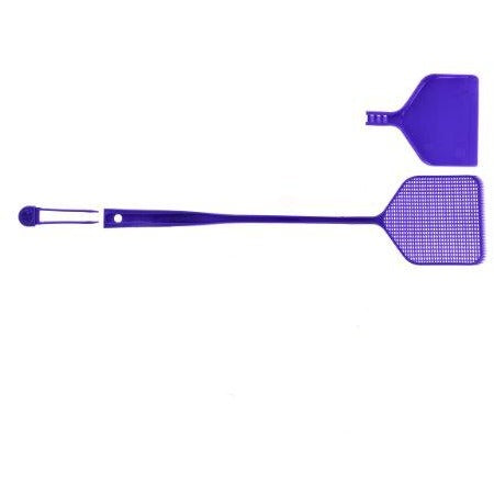 Fly Swatter with Tweezers and Dustpan