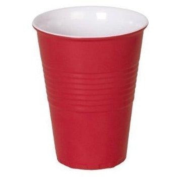 16oz Plastic Beer Cups - Red, 12/pk