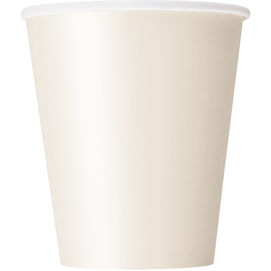9oz Ivory Paper Cups 8/pk